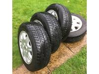 Winter tyres and alloys Rover 75 REDUCED TO SELL