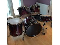 Ludwig Custom Accent Shell Pack