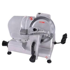"9"" Blade Commercial Meat Slicer Deli Meat Cheese Food Slicer - free shiipping"