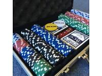 Complete Poker Set (inc chips and cards)