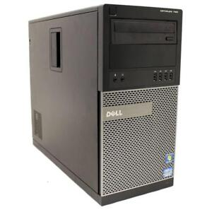TOUR DELL OPTIPLEX 790 Intel Core i3 2120 @3.3Ghz - 4Go - 500Go - Windows 7