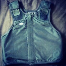 Ex Police Kevlar L2 Stab & Bullet Proof Ballistic Body Armour Vest RRP £400