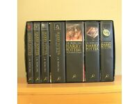 Harry Potter Complete First 1st Edition UK Adult Hardback Book Box Set
