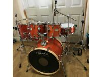 Fully Refurbished Mapex M Series Drum Kit (Amber Lacquer) ~Free Local Delivery~