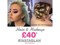 Hair & Makeup @InstaGlamGlasgow