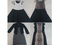 Large bundle of ladies size 8-10 clothes