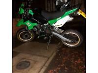 Ròad legal pitbike super moto 2016 model