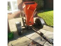 "Bearcat 180 8hp briggs and stratton petrol 3"" wood chipper shredder"