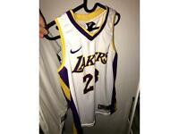 nike lakers jersey size S