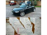 2003 Audi TT 225bhp*Quattro*Convertible*FACELIFT*Low Mileage*Family Owned 16 Years*FDSH*Roadster*VGC