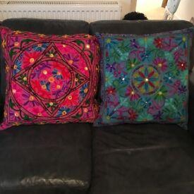 Beautiful New Fairtrade Ethnic Large Cushions