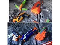 Job lot 16 nerf guns