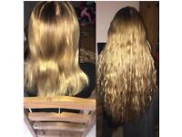 Mobile Hair Extensions - Manchester▪️Cheadle▪️Stockport▪️Leeds▪️Huddersfield▪️Wakefield▪️Bury▪️
