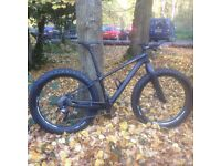 Fat Bike. Full carbon. Lamere custom build. XT/XTR , HED, I9. Very lightweight, very fast.