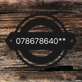 Double 786 mobile telephone number