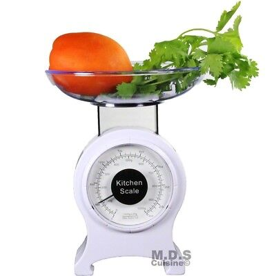- Kitchen Scale Retro Mechanical Dial 2lb Food Scale Diet Portable measuring scale