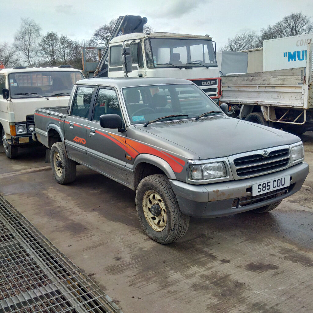 1998 mazda b2500 4x4 pick up in brentwood essex gumtree. Black Bedroom Furniture Sets. Home Design Ideas