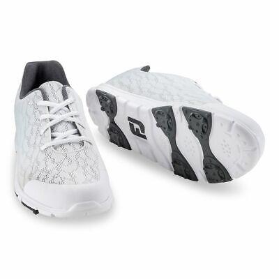 FootJoy Enjoy Damen Golfschuh, weiß/grau  2019 - NEU direkt aus dem Pro-Shop Schuh-shop