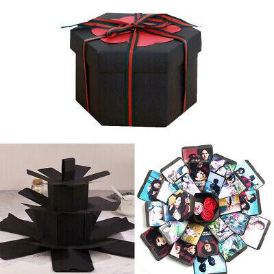 Surprise Explosion Box DIY Scrapbook Photo Album For Valentine's Wedding Gift - Valentine Diys