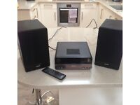 Phillips Micro CD system with dock for iPod and DAB radio