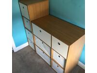 Chest of Drawers with Matching Bedside Drawers