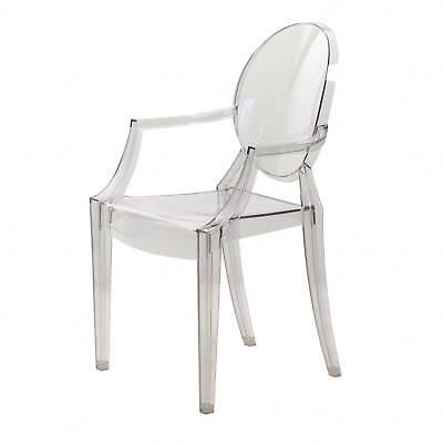 Kartell Louis Ghost 4852 B4 Philippe Starck glasklar transparent Stuhl Klassiker