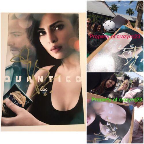 Priyanka Chopra Signed Show Photo Baywatch Quantico Indian Autograph Auto PROOF