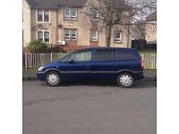 Vauxhall Zafira 7 seater (04) 1 Yr Mot