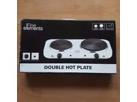Fine Elements Electrical Double Hot Plate 2500 Watt Used