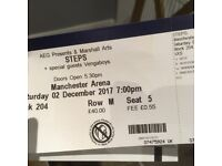 Steps concert tickets Sat 2 December 2017