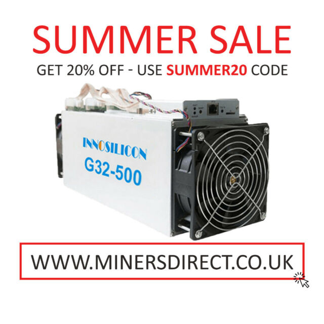 Innosilicon G32 500 - Grin Miner | in Nottingham City Centre,  Nottinghamshire | Gumtree