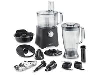 Brand New & Boxed VonShef 750W Food Processor - Blender, Chopper, Juicer, Mixer with all Attachments