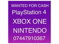 PlayStation 4 Xbox One and NINTENDO ( Read Advert )