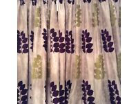 Custom made curtains,pelmet & blind
