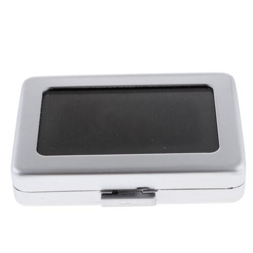 Gemstone Gem Diamond Storage Box Jewelry Display Organizer C