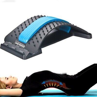 Magic Back Spine Lumbar Support Muscle Stretcher Acupuncture Pain Relief Relax