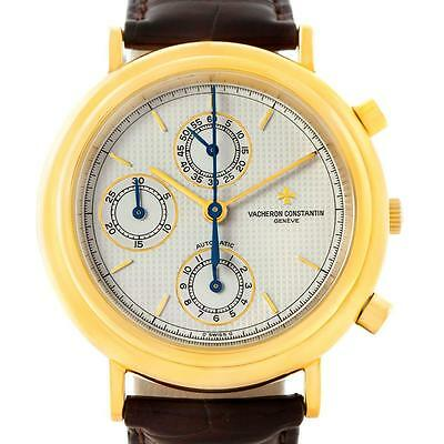 Vacheron Constantin Chronograph Automatic 18K Yellow Gold Watch 47001