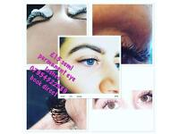 Offer for a limited time only £15 full sets of semi permanent eye lashes
