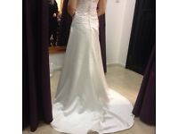 Wedding Dress ivory size 14 Brand New Rosetta Nicolini Unworn unaltered reatail £1300