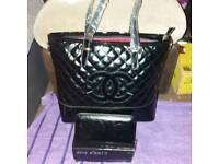 Bag with matching purse