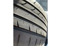 245/35 ZR20 Tyres Blacklion LIKE NEW