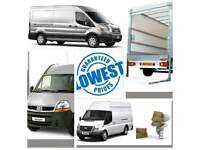 NATIONWIDE HOUSE REMOVALS SERVICE HIRE VAN CHEAP MAN AND VAN MAN WITH VAN MOVERS 24/7 MOVING VAN