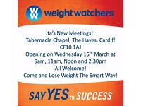 New Weight Watchers Meetings, Central Cardiff