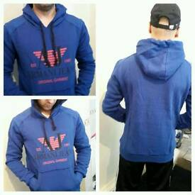 men's emporio armani hoodie sweatshirt new stock market listing xl xxl