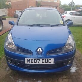 Clio dynamique 1.2 petrol 2007 5 door
