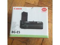 As new Canon BG-E5 battery grip