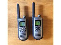 Motorola TLKR-T7 Walkie Talkies