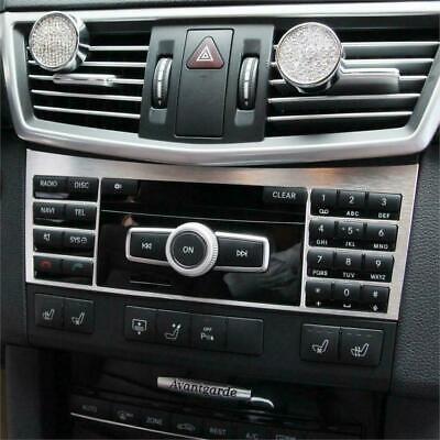 Passend zu Mercedes Benz W212 E-KLASSE 2010-2015 Mittelkonsole Rahmen Blende