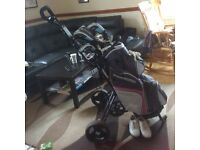 Fazer blizzard golf set/trolley and more.