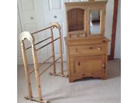 Antique Pine Bathroom furniture